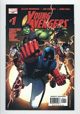 £146.68 • Buy Young Avengers #1 Vol 1 Almost PERFECT High Grade 1st App Of Kate Bishop
