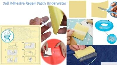 £4.99 • Buy Heavy Duty Self Adhesive Repair Patches Underwater Fix Lay-z-Spa Swimming Pool