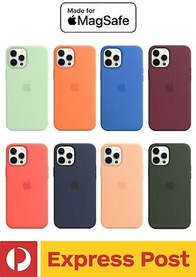 AU35.61 • Buy IPhone 12 Pro Max (6.7 ) Apple Style Silicone Slim Drop Protection Case