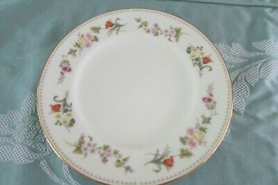 £23 • Buy Wedgwood Bone China Mirabelle R4537 1970. 4 Dinner Plates Size 10ins
