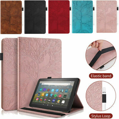 £9.87 • Buy For Amazon Kindle Fire Fire HD 10 8 2015/16 /17 /18 2020 2021 Leather Case Cover