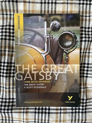 £0.50 • Buy The Great Gatsby York Notes Study Guide