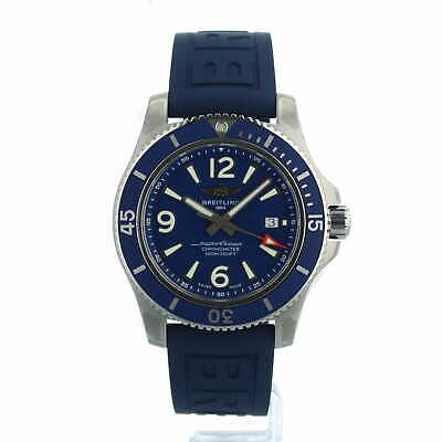 £2695 • Buy Breitling Superocean Automatic 44 A17367 Blue Rubber Box And Papers 2021 Unworn