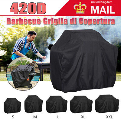 £11.49 • Buy M-XXL BBQ Covers Heavy Duty Waterproof Patio Barbecue Gas Smoker Grill 420D