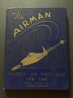 $48.21 • Buy Yearbook: The Airman, 29 Oct - 10 Nov 1954 / Sampson Air Force Base NY / SH