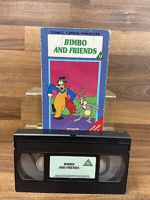£4.99 • Buy Vintage Comic Toons Bimbo And Friends - Animated - Cartoons - PAL VHS Video Tape