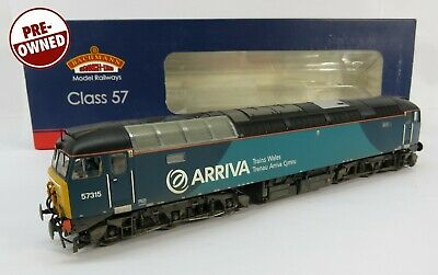 £119.95 • Buy OO Gauge Bachmann 32-755 Class 57 315 Arriva Trains Wales Loco Weathered Chassis
