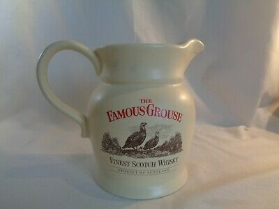 £8 • Buy The Famous Grouse Finest Scotch Whisky Ceramic Bar Water Jug 14cm Wade PMD