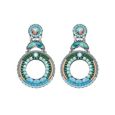 £98 • Buy AYALA BAR Beautiful 'Clearwater' Earrings Classic Collection Summer 2020