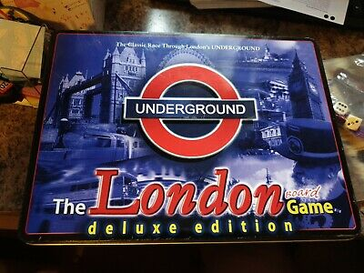 £2 • Buy The London  Underground Board  Game  Deluxe  Edition