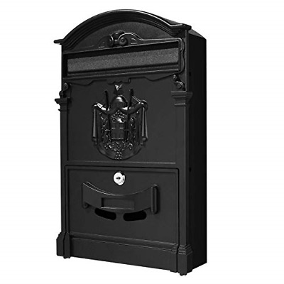 £45.25 • Buy Tooluck Wall-Mount Letterboxes Lockable Outdoor Vertical Mailbox Rust-Proof Mail