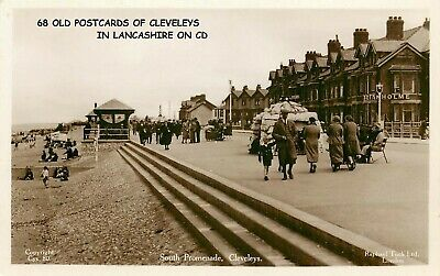 £3.99 • Buy 68 Old Vintage Postcards & Photo's Of Cleveleys In Lancashire On Cd