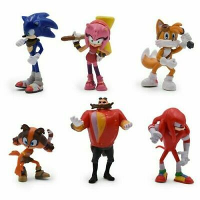 £7.89 • Buy Sonic The Hedgehog 6PCS PVC Game Toy Action Figure Model Doll Kids Xmas Gift Toy
