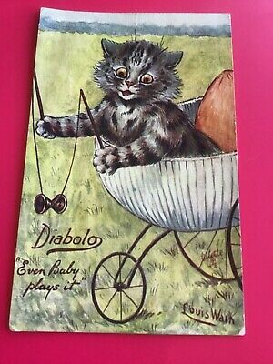 £15 • Buy LOUIS WAIN CAT Playing Diabolo By TUCK P/u 1923 VG CONDITION POSTCARD   8/6