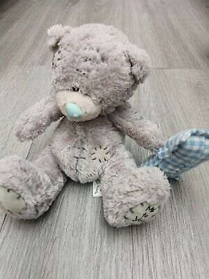 £2.50 • Buy Small Me To You Part Bean Filled Soft Toy Teddy Bear Holding A Pillow