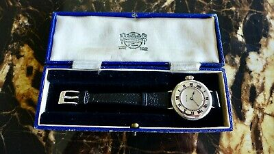 £2450 • Buy A Vintage 1919 Ww1 Gents Military Rolex Officers Trench Wristwatch In Silver