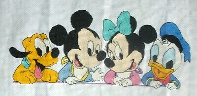 £1.99 • Buy Counted Cross Stitch Unframed Tapestry Picture Disneys Mickey Mouse & Friends