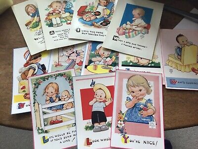 $20.71 • Buy MABEL LUCIE ATTWELL  Nice Lot  OF 12 1950-60s MINT CONDITION Postcards