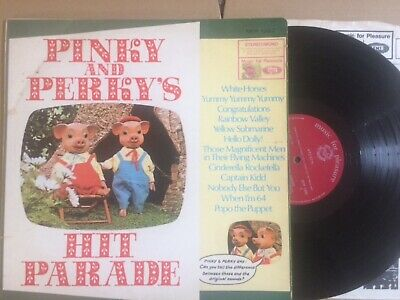 £0.99 • Buy Pinky And Perky's Hit Parade 1968 Uk Music For Pleasure 12  Lp Mfp 1282
