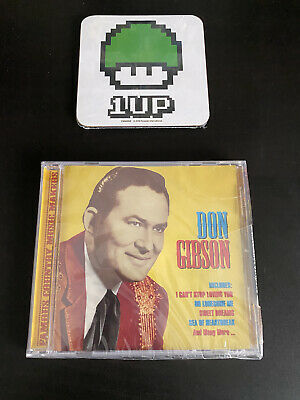 £6.45 • Buy Don Gibson CD - Famous Country Music Makers - Factory Sealed Free P+P