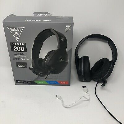 £0.99 • Buy Gaming Headset, Playstation & Xbox, Turtle Beach Recon 200, Battery Powered