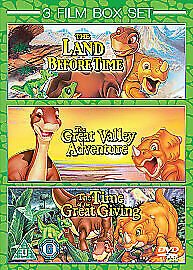 £3.99 • Buy The Land Before Time/The Land Before Time - The Great Valley Adventure/The Land