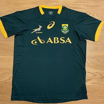 £30 • Buy South Africa Rugby Shirt Large Asics