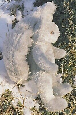 £1.25 • Buy Grey Squirrel Toy Sewing Pattern + Enlarged Templates~book Extract
