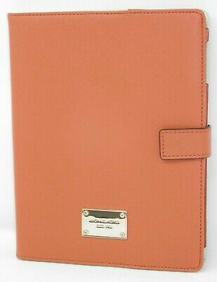 £43.64 • Buy Michael Kors IPad Cover - Tablet Case Orange Folding Stand Textured Leather
