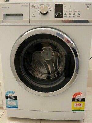 AU95 • Buy Fisher & Paykel White Front Load Washing Machine 7.5kg Drum - Good Condition