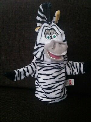 £3.95 • Buy Madagascar Escape 2 Africa Zebra Marty Persil Hand Glove Puppet Toy Vgc