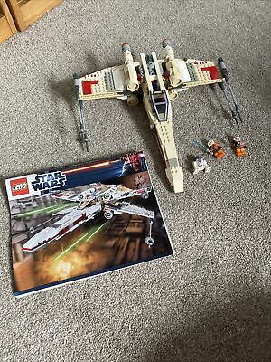 £30 • Buy Lego 9493 Star Wars X-wing Starfighter With 3 Minifigures & Instructions