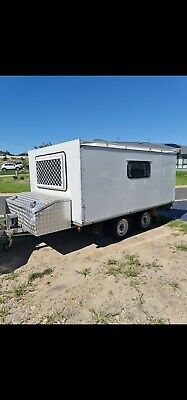 AU5000 • Buy Camper Trailer With Pop Top, Solar And Deep Cycle Battery