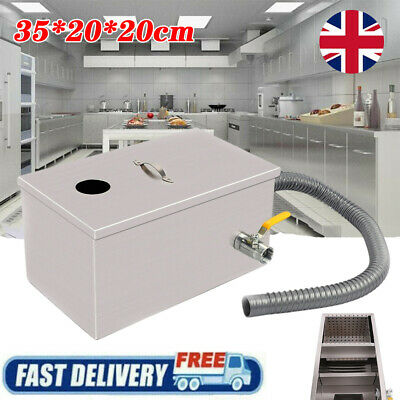 £24.98 • Buy Commercial Grease Trap Waste Fat Filter Stainless Steel Restaurant Takeaway Tool