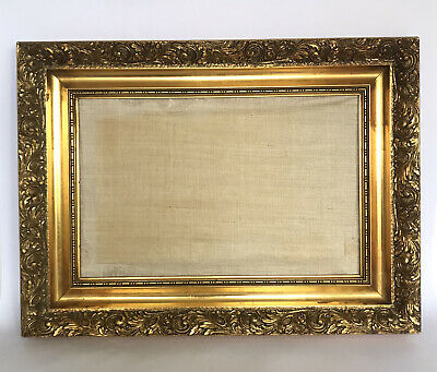 £38 • Buy Vintage Antique Style Large Rococo French Style Ornate Gilt Gold Picture Frame