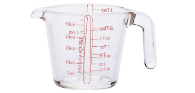 £6.89 • Buy Kitchencraft Measuring Mini Glass Beaker Ideal For Measuring Small Quantities