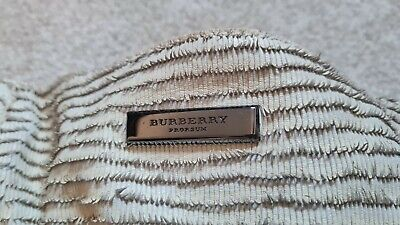 £30 • Buy Burberry Prorsum Cream Leather Fringed Large Tote Bag (runway Collection)
