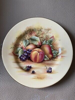 """£12 • Buy Orchard Gold Aynsley Porcelain China. 6.5"""" Plate."""