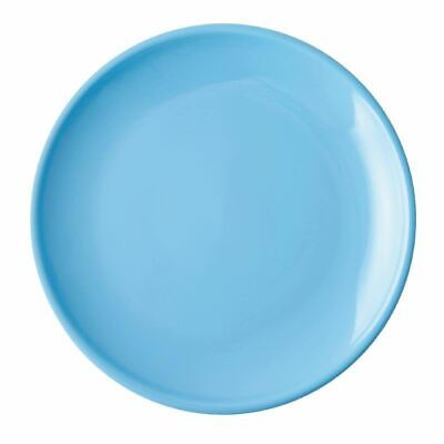 $104.36 • Buy Olympia Cafe Coupe Plate In Stoneware - Blue - 205(Ø) Mm - 12 Pc