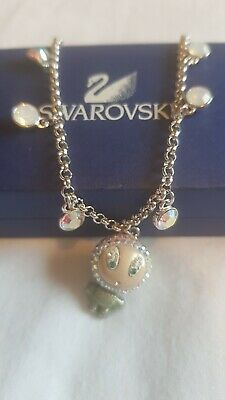 £35 • Buy Gueniun Never Worn Swarovski Braclet. With Charm And Crystals
