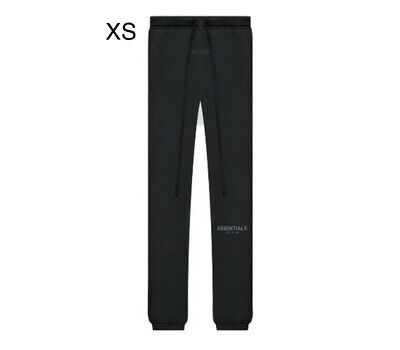 £114.68 • Buy Fear Of God FOG Essentials Sweatpants (SS21) Black/Stretch Limo Size Large