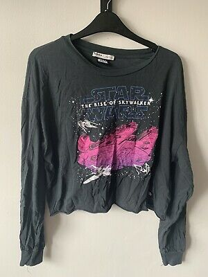 AU1.83 • Buy Pull And Bear Starwars Crop Top Size Small