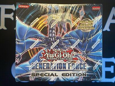 £28 • Buy Generation Force GENF Sealed Special Edition Case Of 10 Displays Yugioh