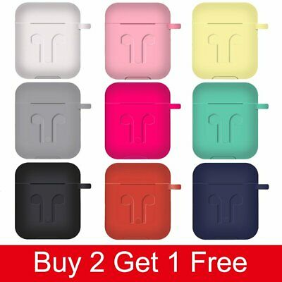 $ CDN8.33 • Buy For Apple AirPods 1 2 Case Silicone Protect Outer Skin Thicken Headphone Cover