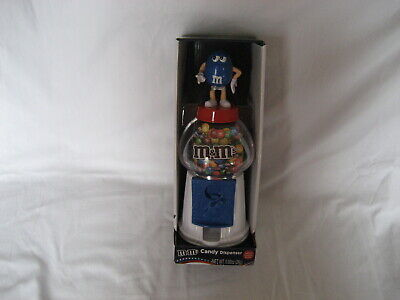 $9.99 • Buy M&m's-  M&m Blue Guy Gumball Style Candy Dispenser-  New In Box