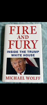 AU0.96 • Buy Fire And Fury : Inside The Trump White House By Michael Wolff (2018, Hardcover)