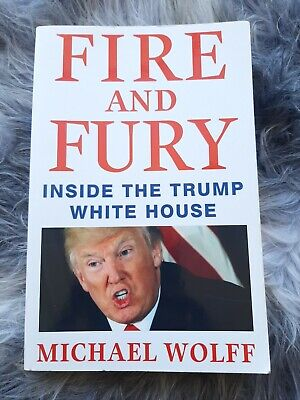 AU2 • Buy FIRE AND FURY Michael Wolff  (2018) - Inside The Donald Trump White House - Book