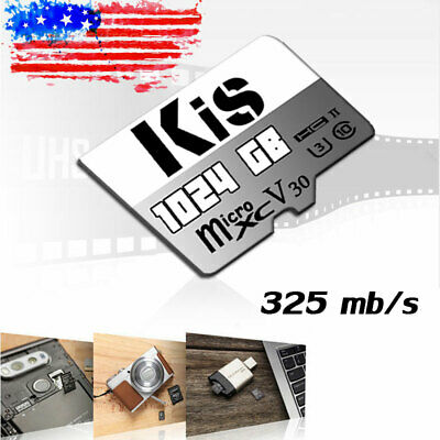 $8.68 • Buy Micro SD TF Card 64GB 128GB 256GB 512GB Class 10 For Smartphones & Tablets