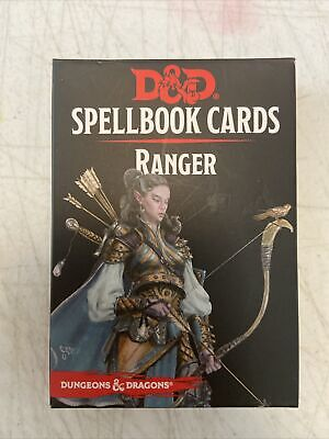 AU12.22 • Buy Dungeons And Dragons: Ranger Spell Cards (dnd, D&d)  Complete Excellent