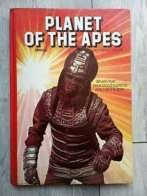 £25 • Buy Planet Of The Apes Annual Authorised Edition 1977 Brown And Watson